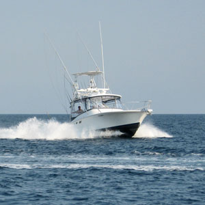 offshore fishing charter boat