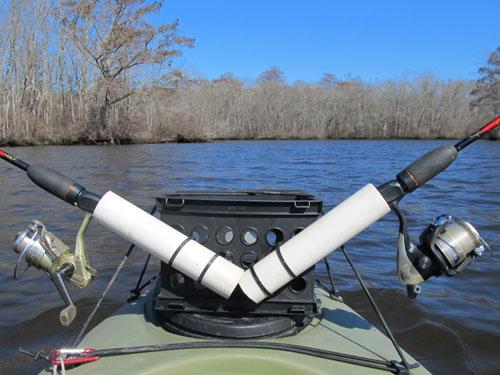 portable kayak rod holder