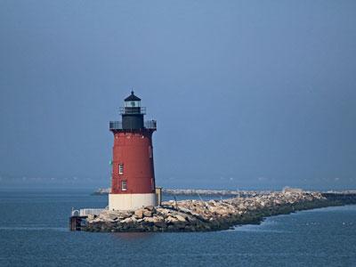 Delaware Breakwater Light Lewes Delaware
