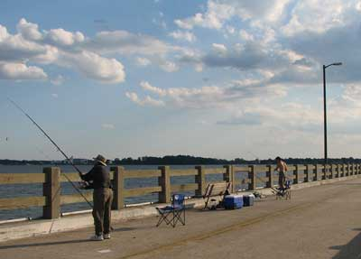 choptank river fishing pier - cambridge md