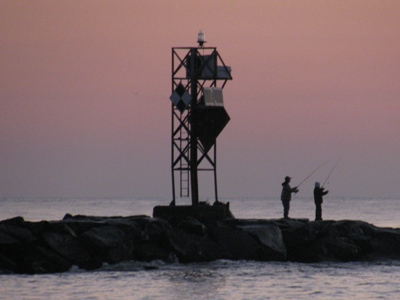 ocean city jetty fishing