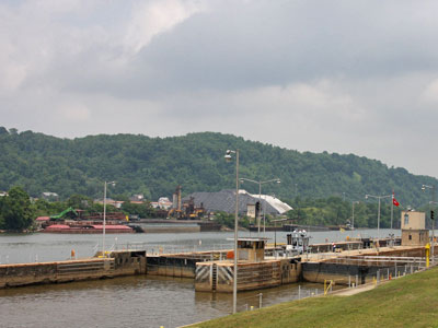 Monongahela River locks
