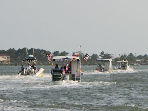 chincoteague island fishing boats