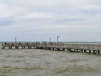 saxis fishing pier
