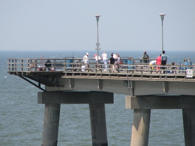 sea gull fishing pier chesapeake bay bridge tunnel