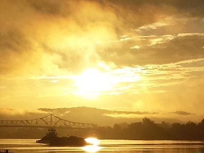 kanawha river wv tugboats