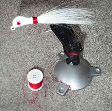 bucktail jig hand made